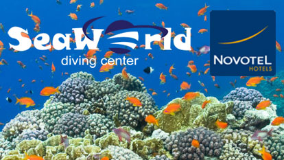 Scuba Diving with SeaWorld from Novotel