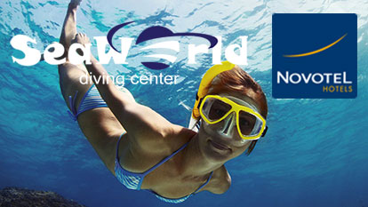Snorkelling with SeaWorld from Novotel